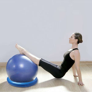 Premium Sitting Exercise Yoga Balance Stability Ball Chair | Zincera