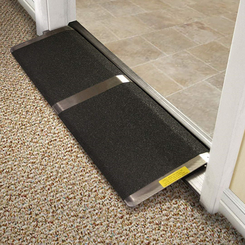 Portable Wheelchair Handicap Threshold Door Ramp | Zincera