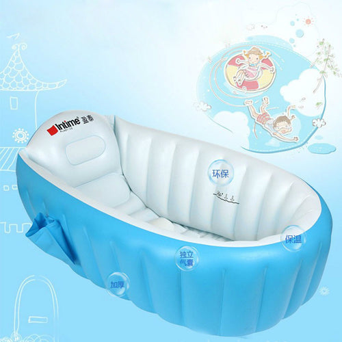 Infant Baby Inflatable Shower Bathtub | Zincera