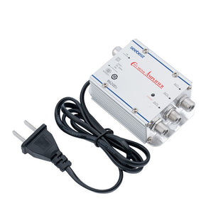 20dB TV Antenna Booster Cable Signal Amplifier | Zincera
