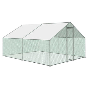 Large Spacious Walk In Backyard Chicken Coop 10' x 10'
