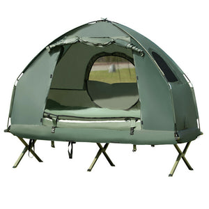 Compact Spacious Camping Off The Ground Cot Tent