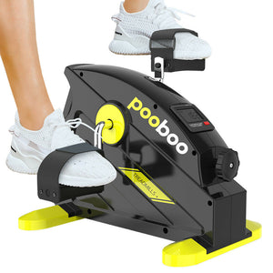 Portable Compact Under Desk Exercise Peddler Bike