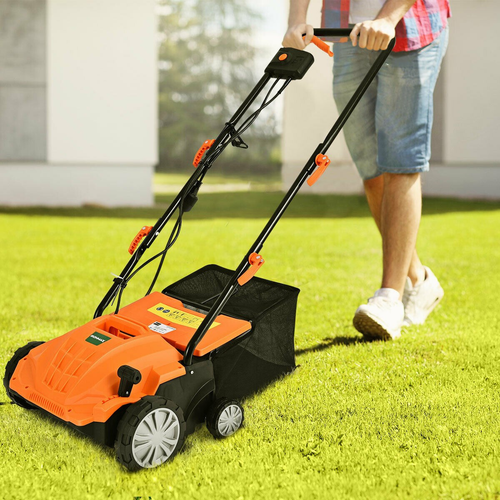 Heavy Duty Electric Lawn Power Grass Dethatcher 13