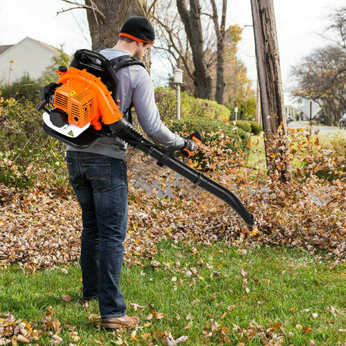 Heavy Duty Lightweight Gas Powered Backpack Leaf Blower