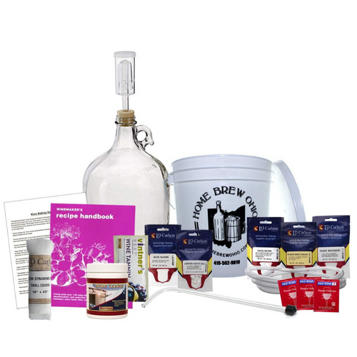 All In One Wine Making Equipment Supply Kit | Zincera