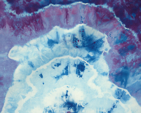 Purple, Blue, and Pink Geode Fat Quarter