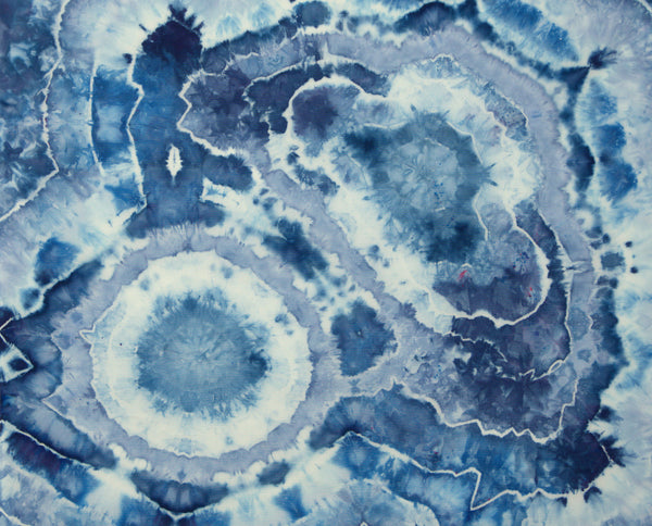 Blue Geode Fat Quarter