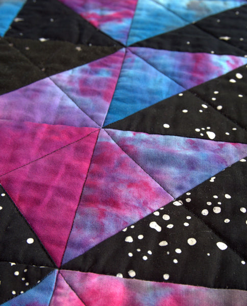 Galaxy Quilt - Glow in the Dark Backing