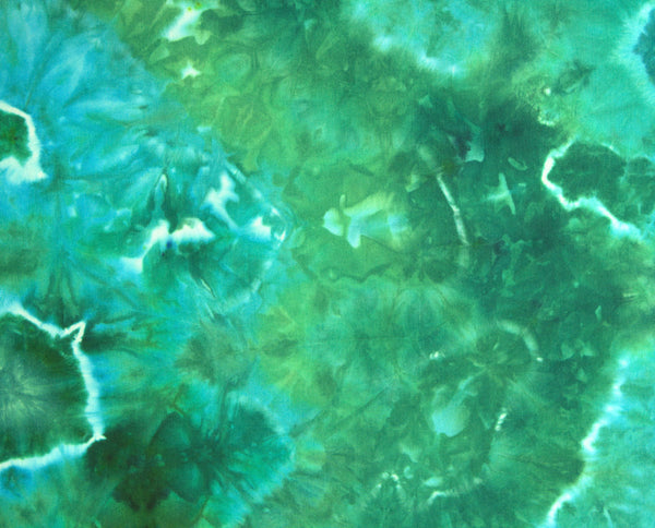 Green and Blue Geode Fat Quarter