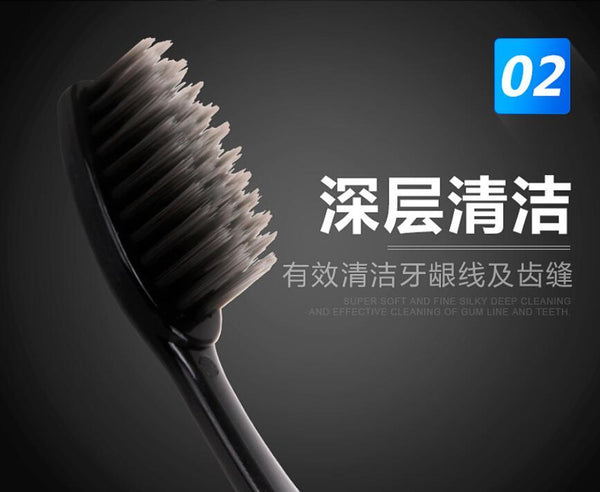 Adult  Soft fur  Bamboo Toothbrush