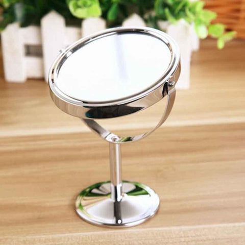 Sided Normal Magnifying Stand Mirror
