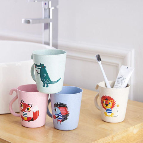 Baby Animal Tooth Brush Cups