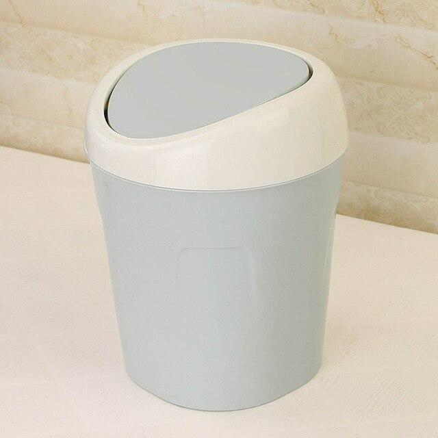 Bedroom Small Trash Bin 3 Colors