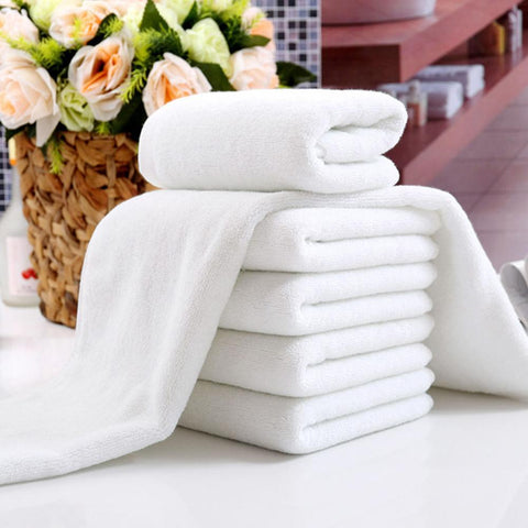 White Soft Home Hotel Bath Towel