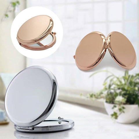 1Pc Portable Makeup Mirror