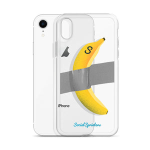 "Kryt na iPhone ""Banana art"""