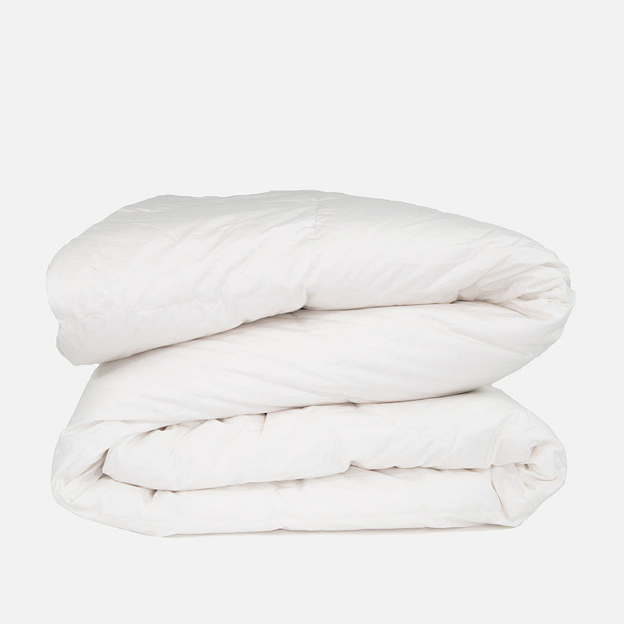 Dreamy White Goose Down Comforter
