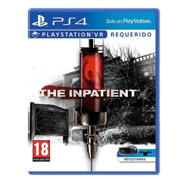 PlayStation 4 Video Game Sony The Inpatient (Refurbished A+)