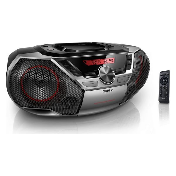 Radio met cd- en mp3-speler en Bluetooth Philips AZ700 12W Grijs