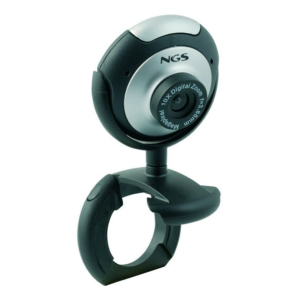 Webcam NGS XPRESSCAM300 USB 2.0 Zwart