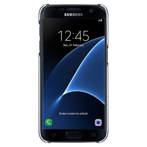 "Telefoonhoes Samsung S7 Clear Cover EF-QG930 5.1"" Transparant"