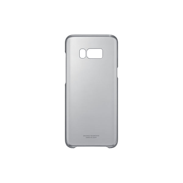 Telefoonhoes Samsung 222143 Samsung S8+ Clear Cover Zwart