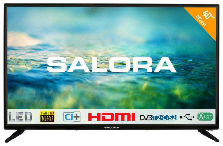 Zwarte 40 inch Salora 40LTC2100 TV