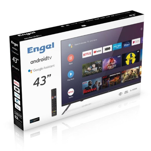 "TV Engel 43"" 4K Ultra HD LED WiFi"