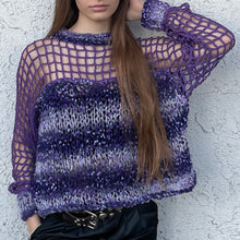 Load image into Gallery viewer, Crewneck Cage Detail Sweater