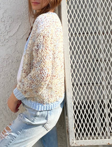 Relaxed fit cardigan