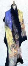 Load image into Gallery viewer, Felt merino Wool And Silk Shawl