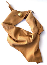 Load image into Gallery viewer, Leather cowl / neck scarf