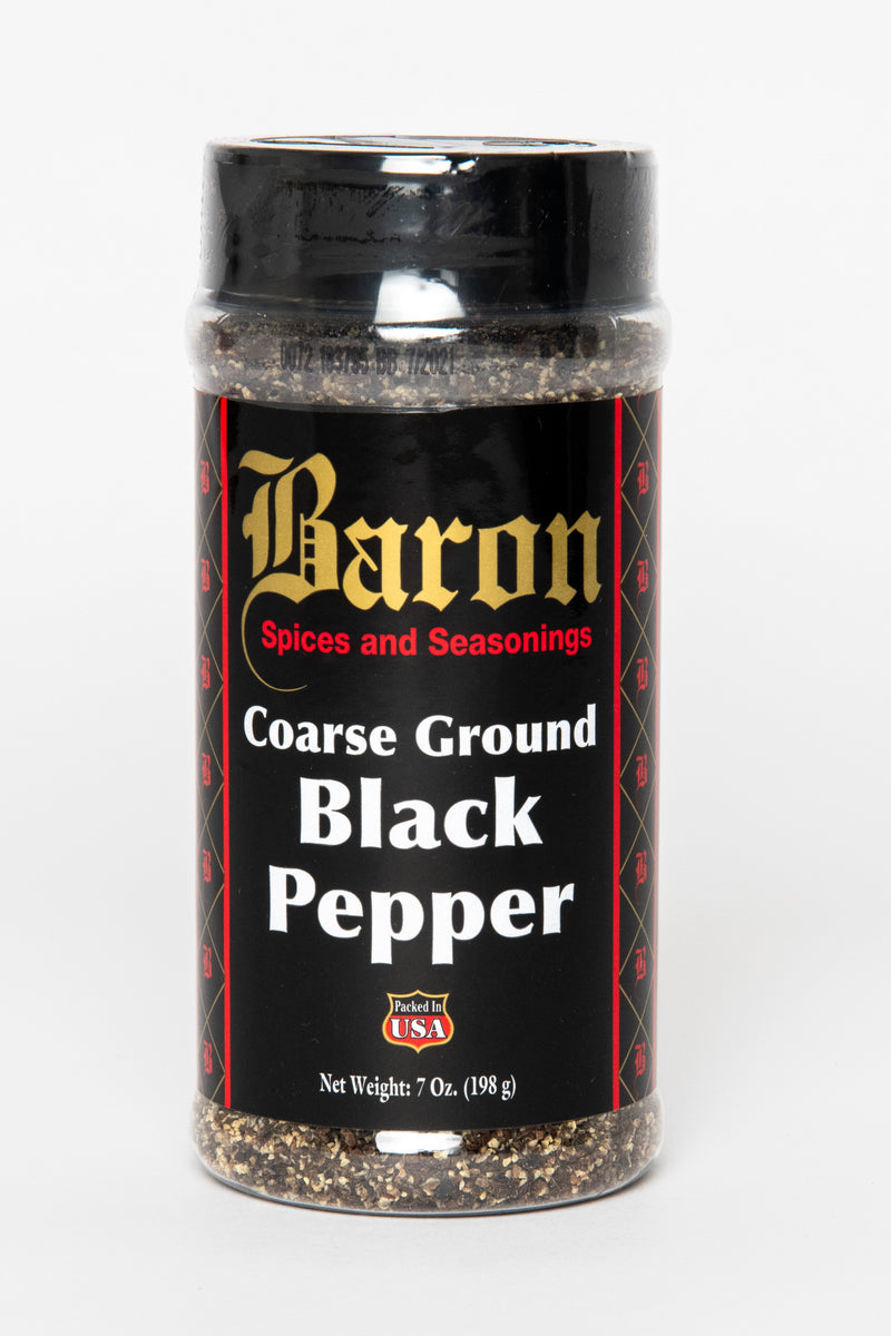 PEPPER, BLACK COARSE GROUND