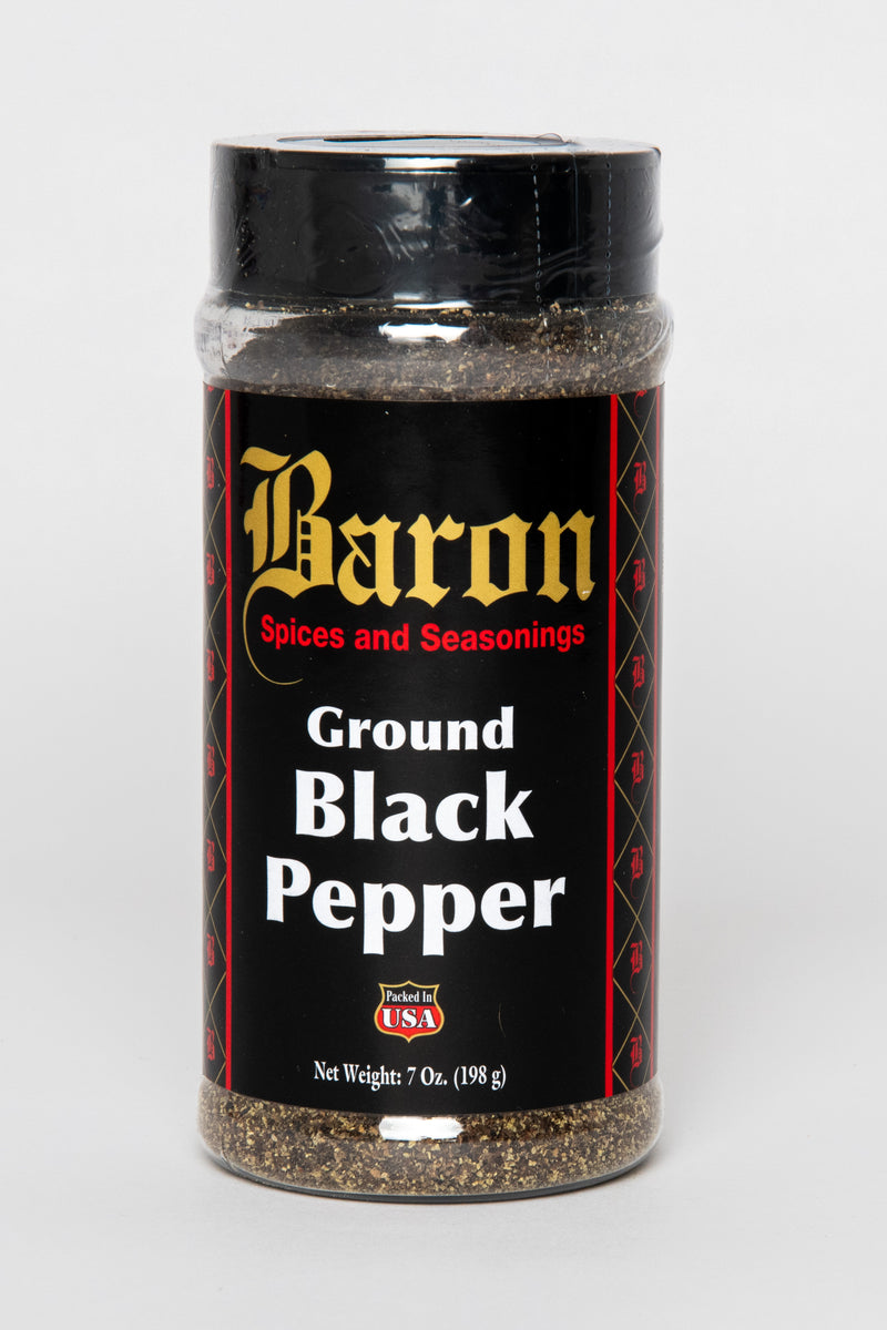 PEPPER, BLACK GROUND