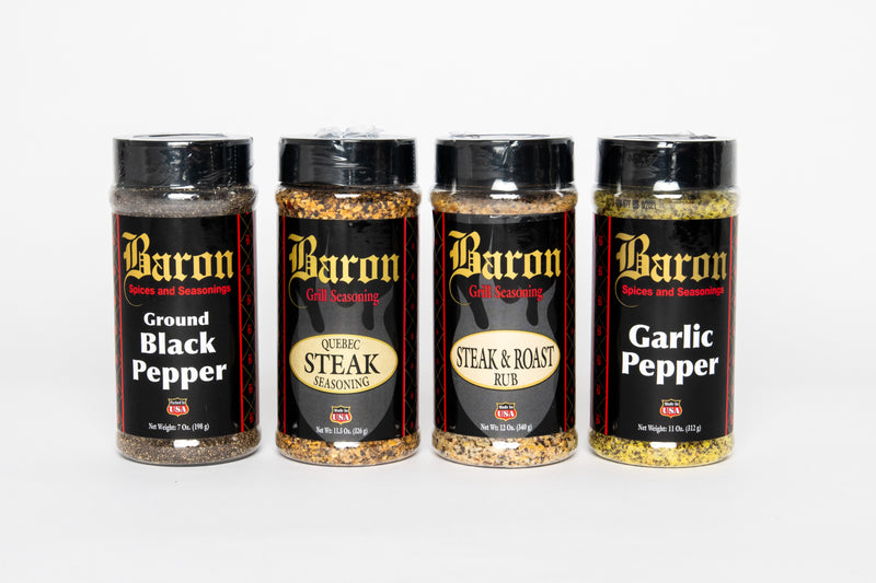STEAK Seasonings and Rubs - 4 Pack