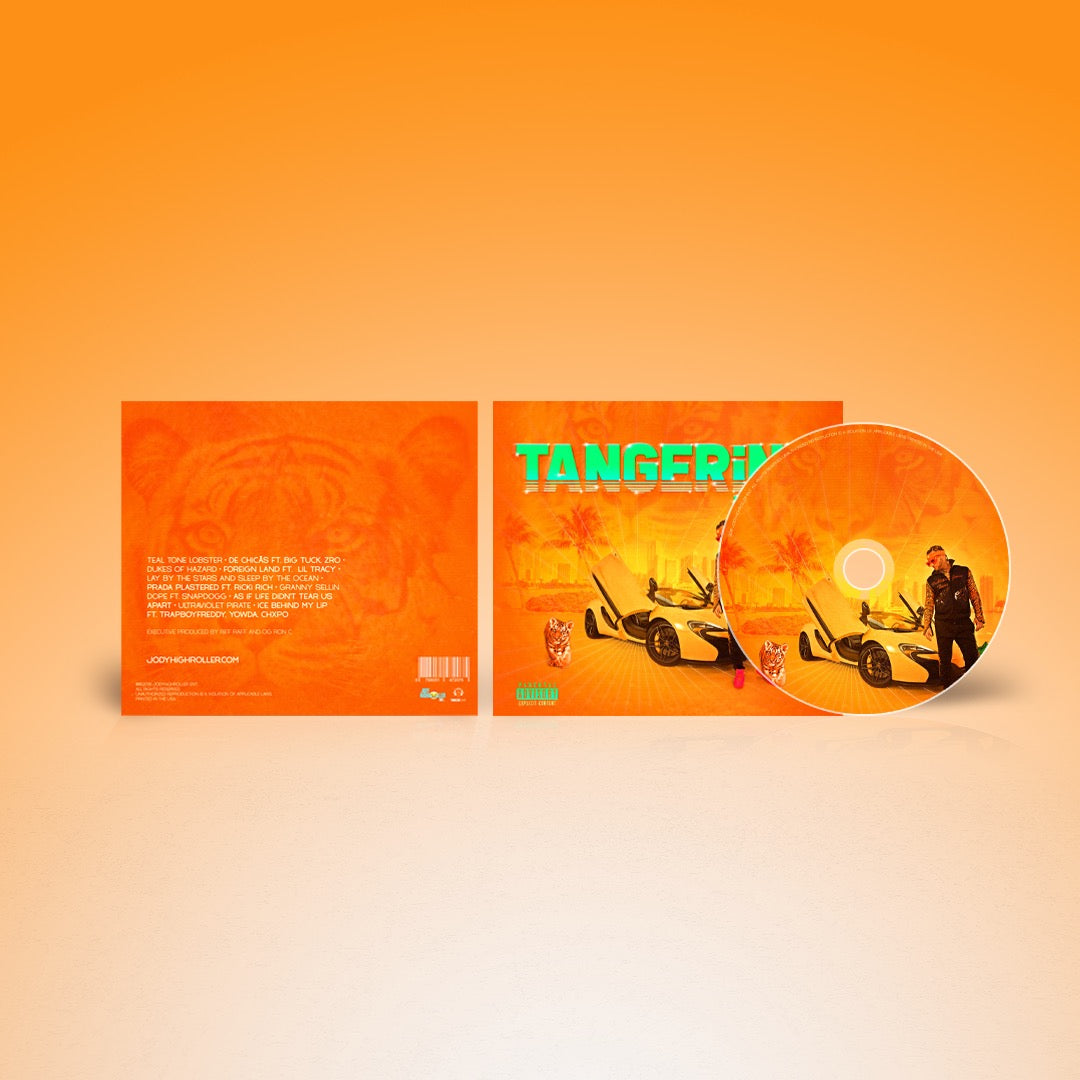 TANGERiNE TiGER CD