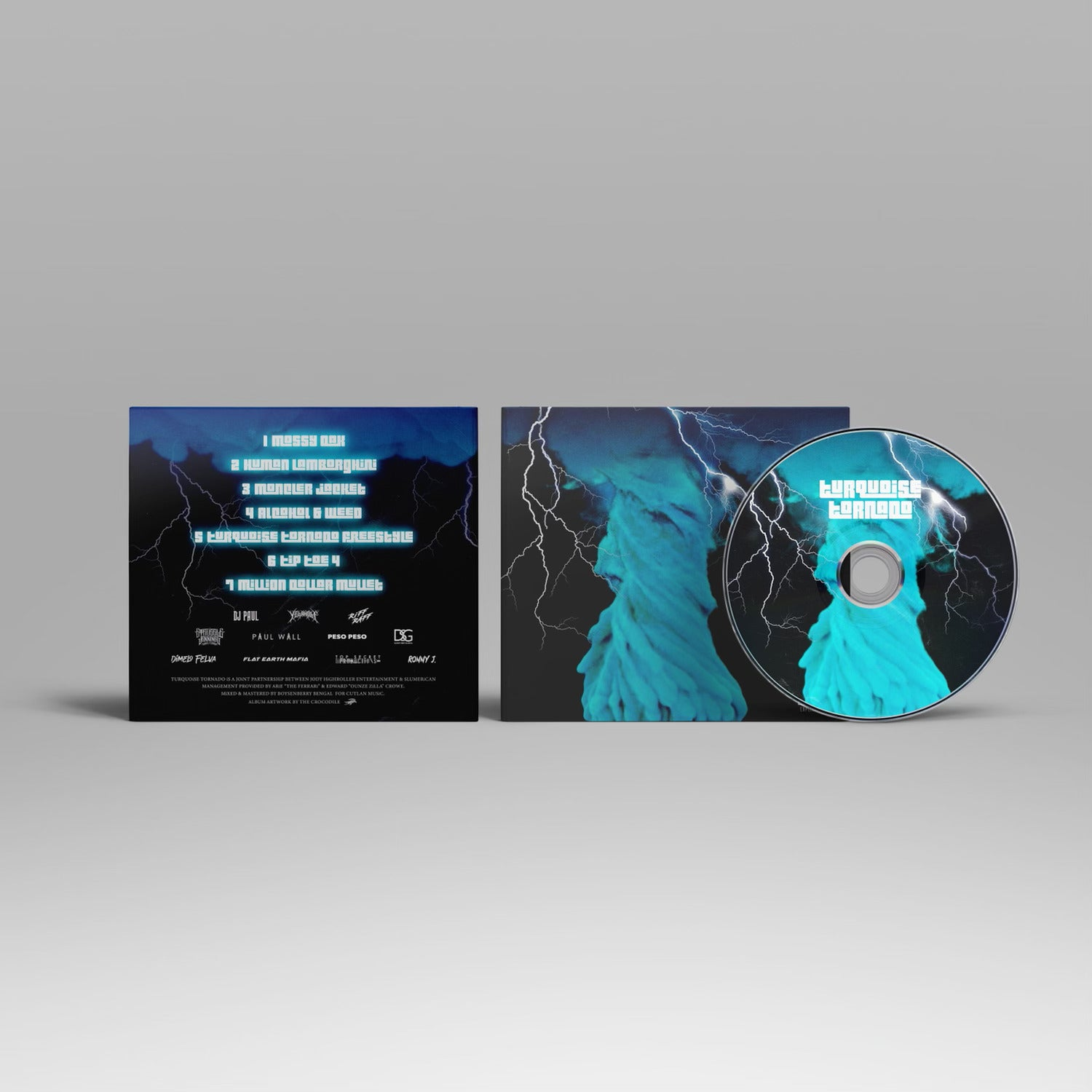 TURQUOiSE TORNADO COLLECTOR'S CD