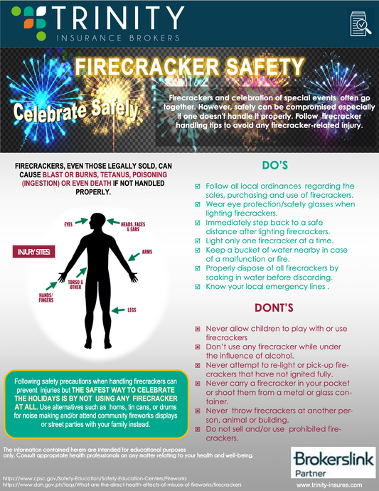 TRINITY HEALTH BLAST : FIRECRACKER SAFETY