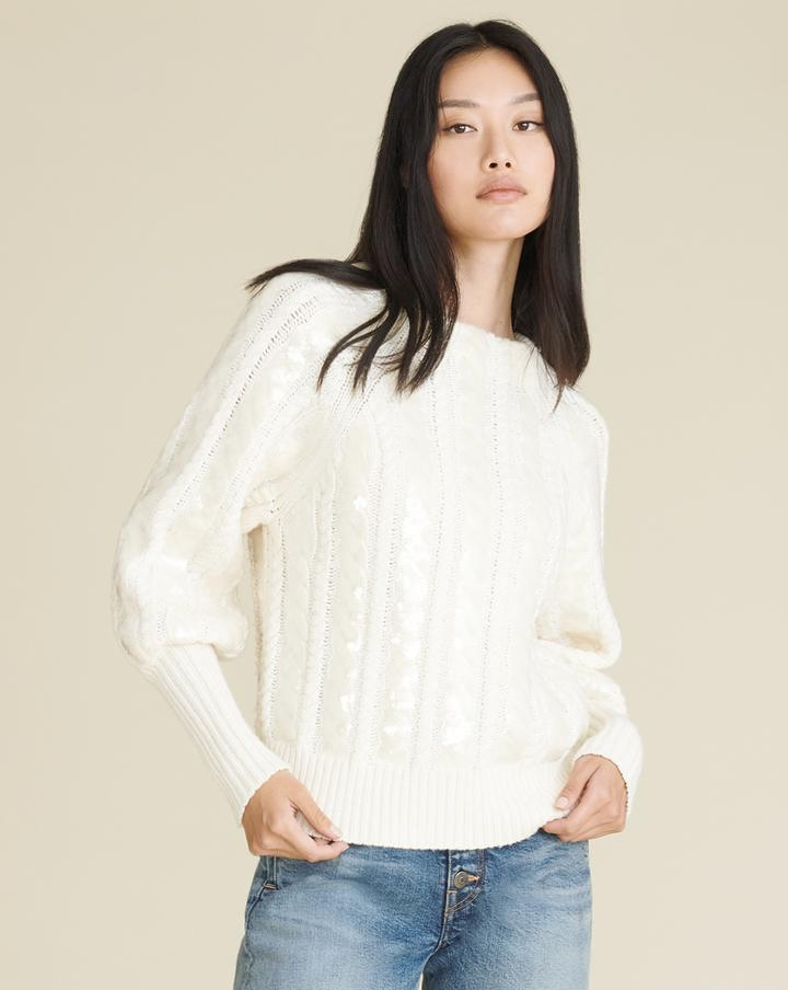 YOLA PULLOVER W SEQUIN