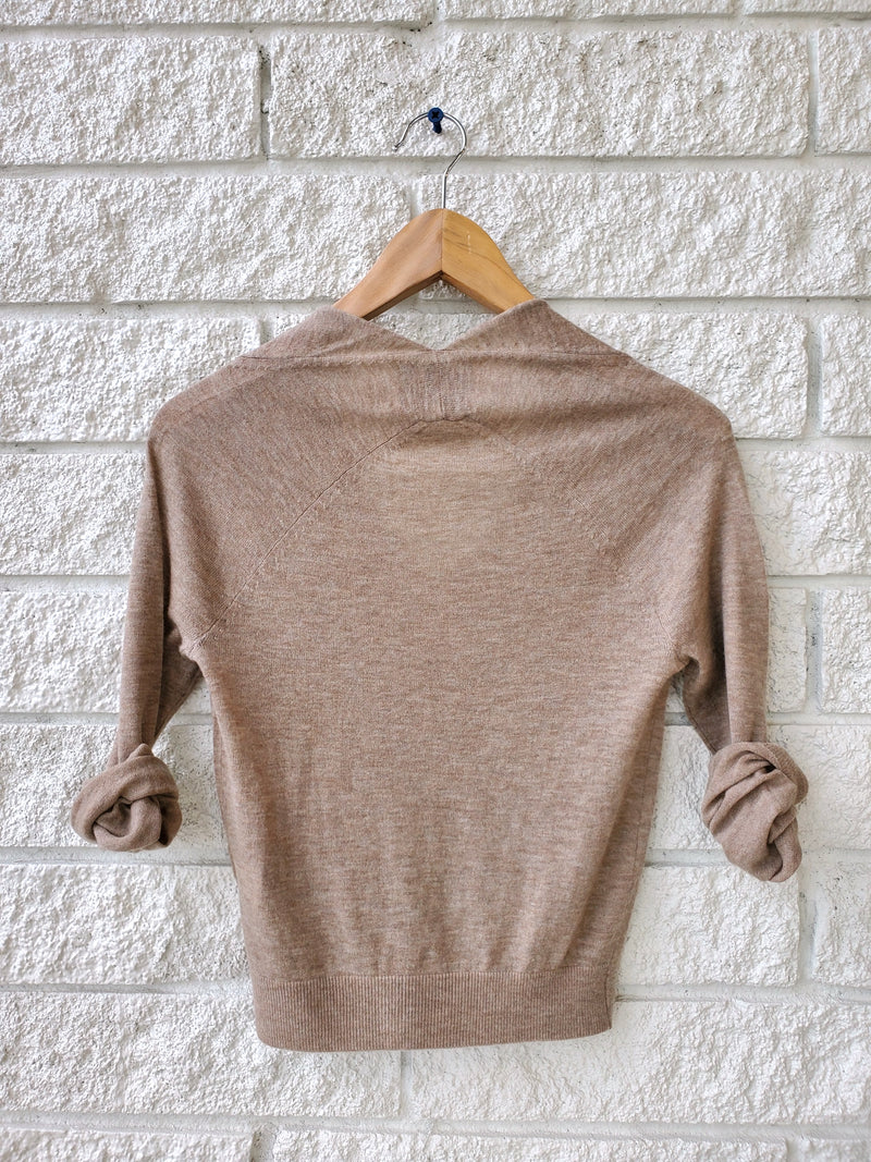 ASTA WRAP SWEATER