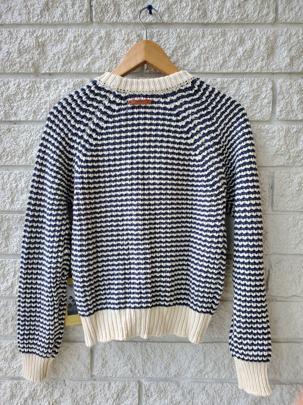 Meredith Striped Cardigan