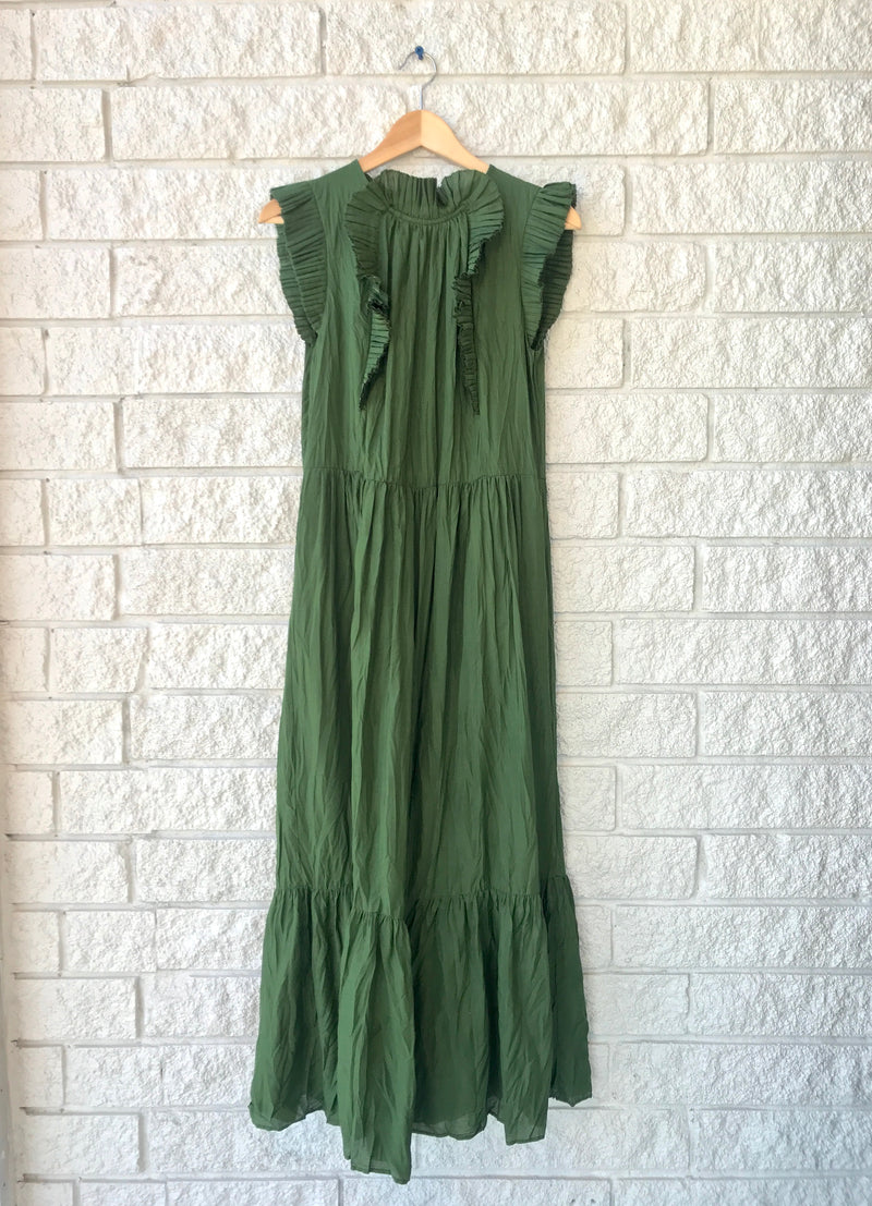 TESSA SLEEVELESS MAXI
