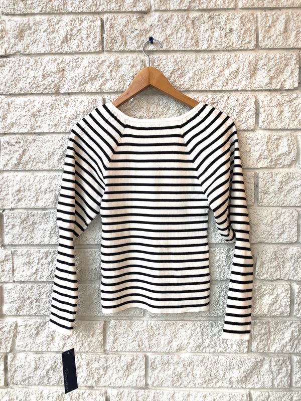 LILY PUFF SLEEVE KNIT TOP