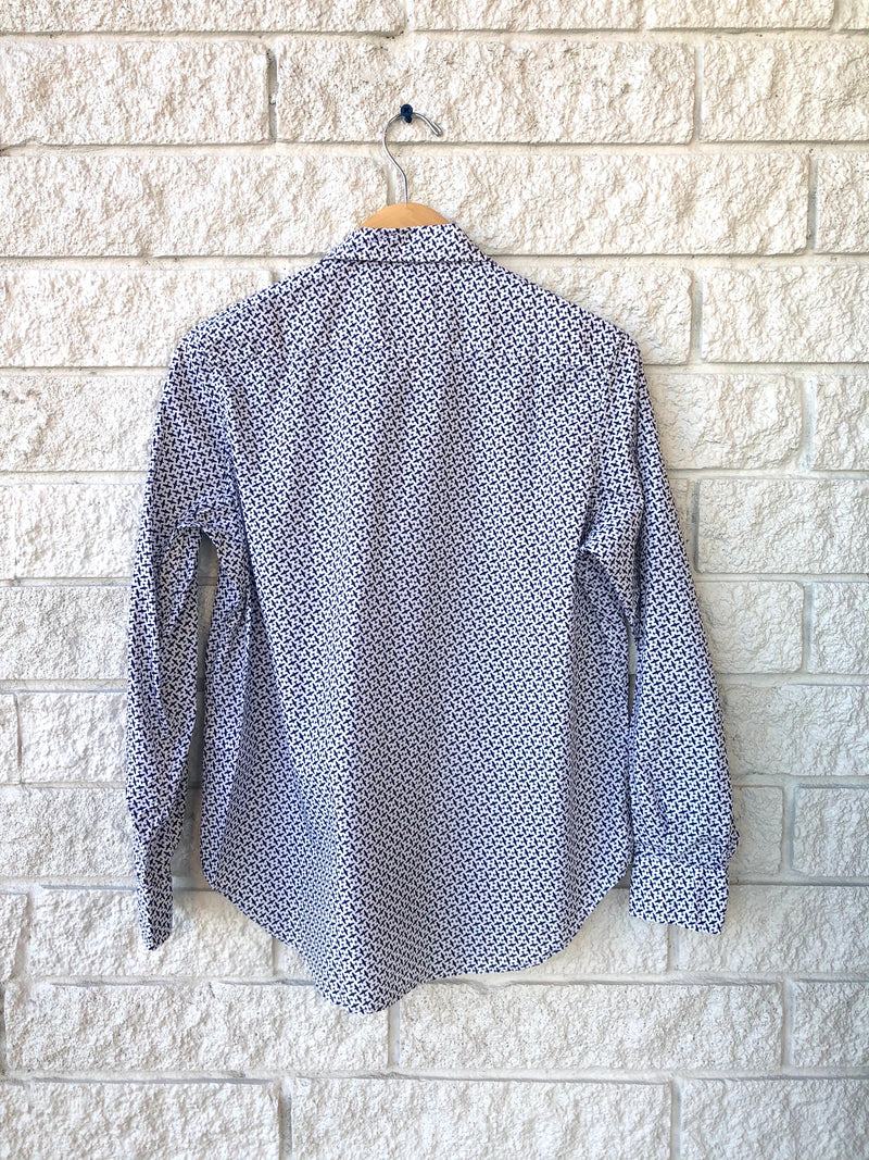 WOMEN L/S BUTTON DOWN