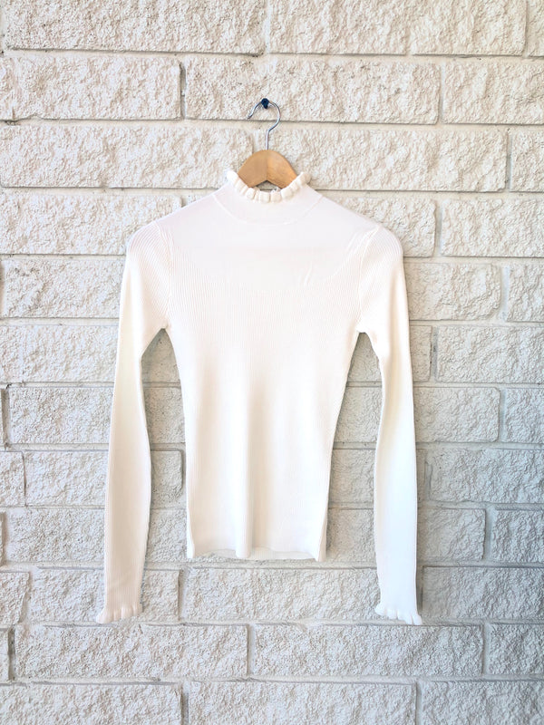 MARISHA MOCK NECK SWEATER