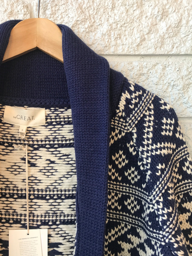 THE FAIR ISLE LODGE CARDIGAN