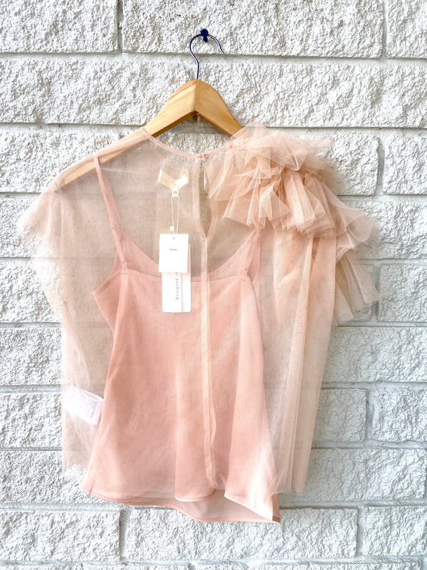 TOP TULLE NUDE