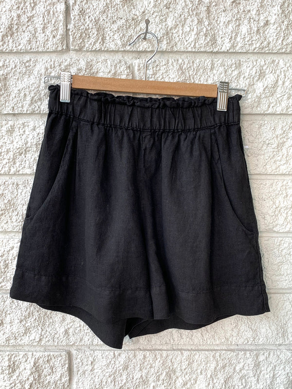 DOLLY SHORT-BLACK