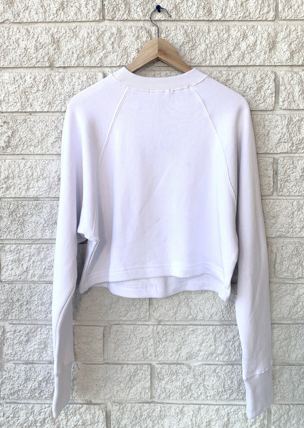 SO UPTIGHT RAGLAN SWEATSHIRT